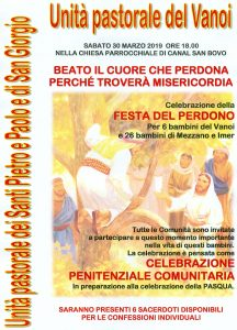 Festa del Perdono Vanoi, Imèr e Mezzano