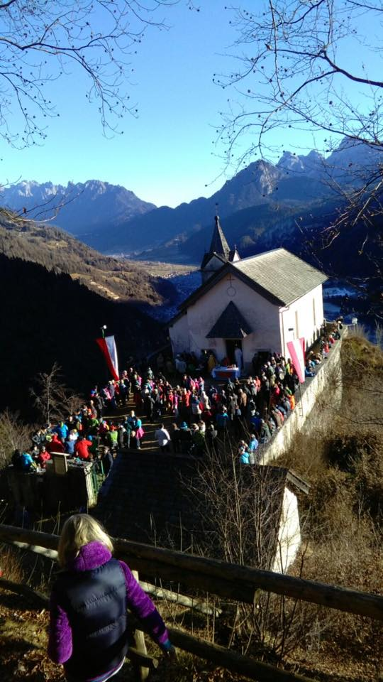 Chiesetta di San Silvestro sul Monte Totoga inviate da Pellin Adriana e Fiore Gobber