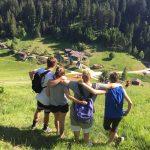 Campeggio sul monte Vederna anno 2019