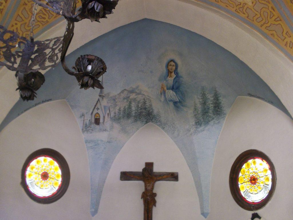 Chiesetta Madonna della Neve sull'Alpe Vederna Foto Annalisa Raccanello