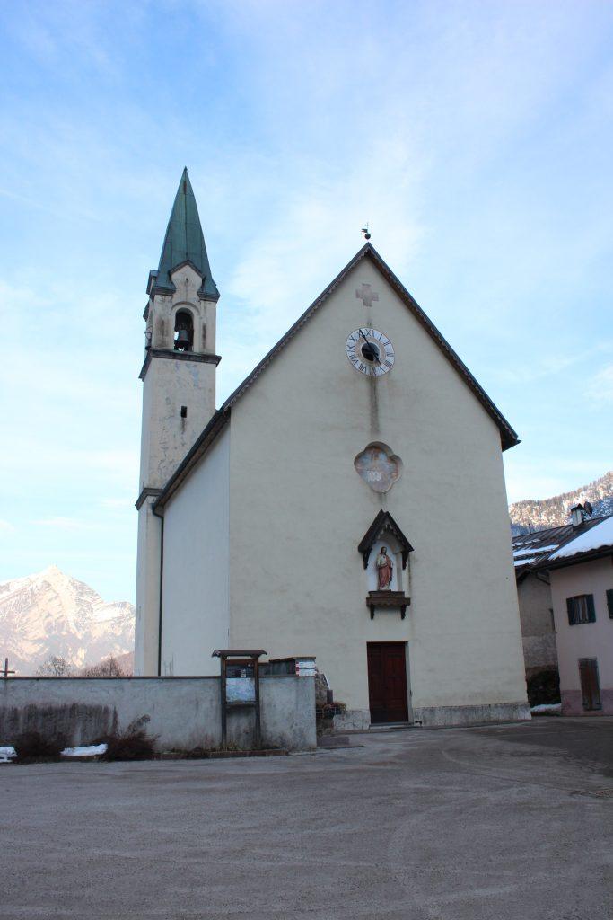 Chiesa di Sagron foto Luciana Bettega