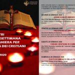 Settimana di preghiera per l'unità dei cristiani Diocesi di Trento