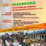Cena Missionaria Amici dell'Africa