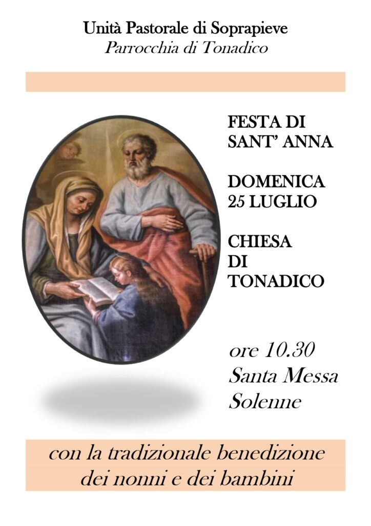 Festa di Sant'Anna a Tonadico